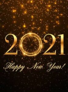 HAPPY NEW YEAR 2021!